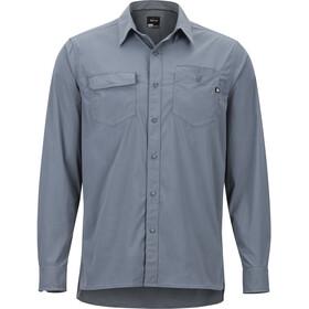 Marmot Kapalino T-shirt à manches longues Homme, steel onyx